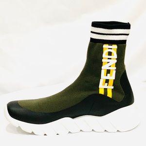 🌟FENDI 🌟 High-Top Sneakers Men's size 8